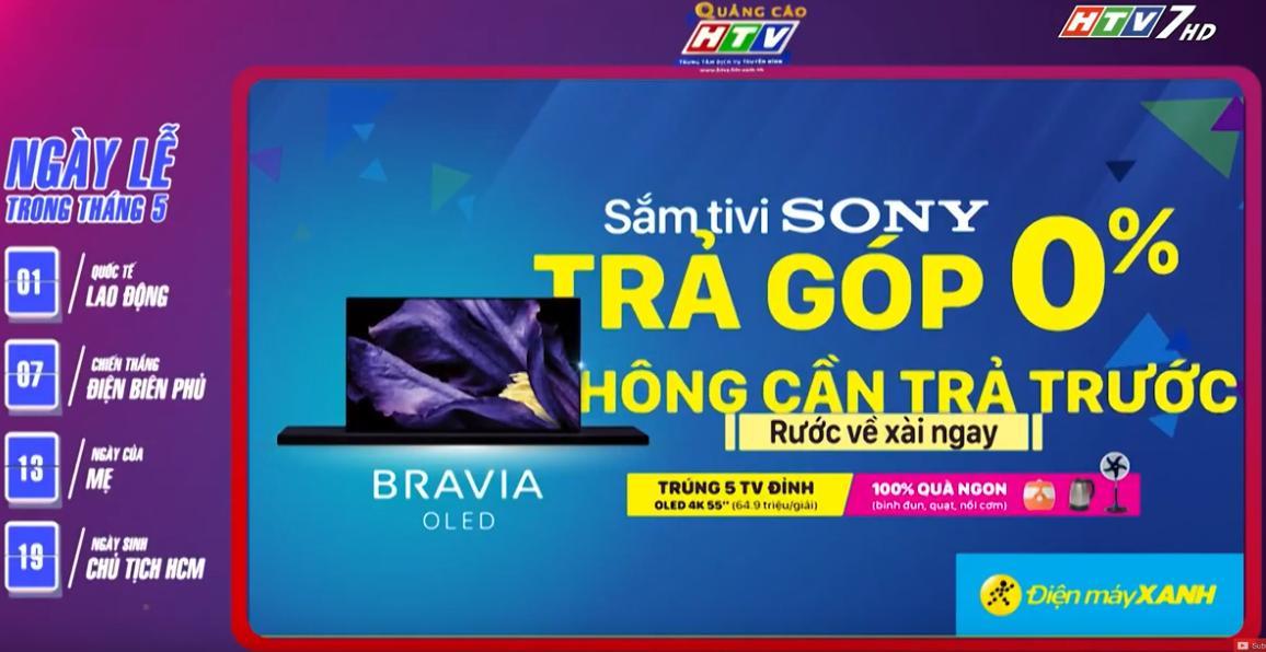 quảng cáo trên truyền hình htv7