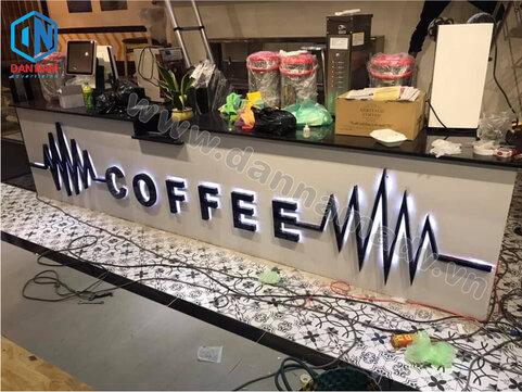 Biển quảng cáo cafe