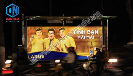 quảng cáo tại nhà chờ xe bus đà nẵng