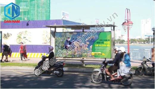 quảng cáo trạm dừng xe bus đà nẵng