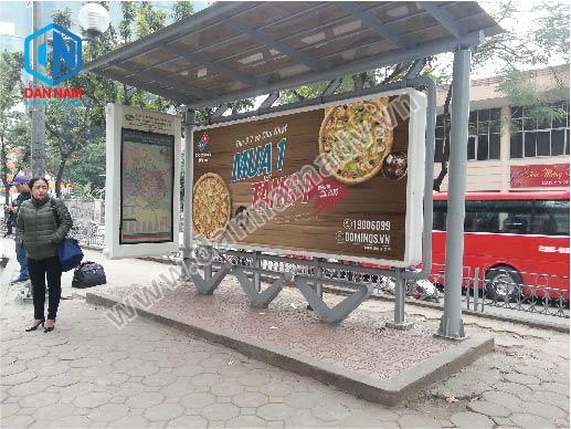 quảng cáo trạm chờ xe bus hà nội