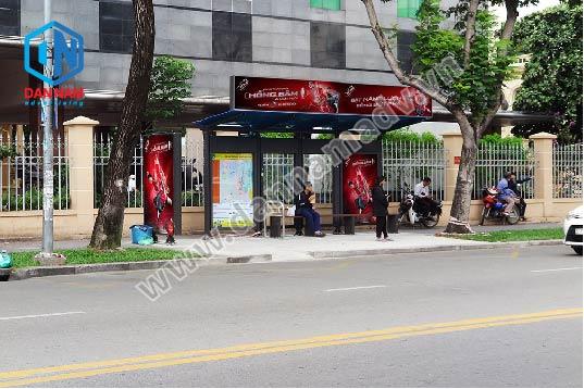 Quảng cáo nhà chờ xe bus HCM
