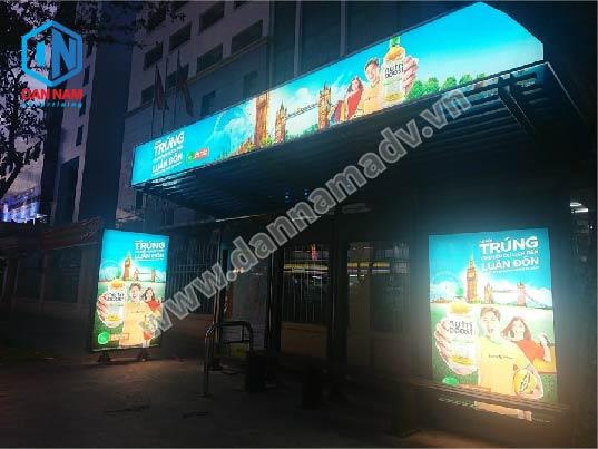 Quảng cáo nhà chờ xe bus TPHCM