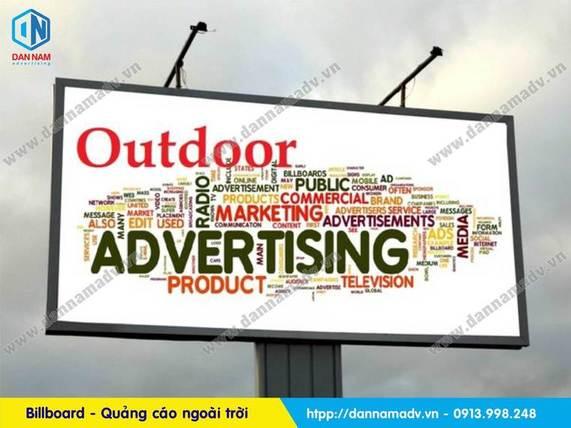 quảng cáo ngoài trời billboard