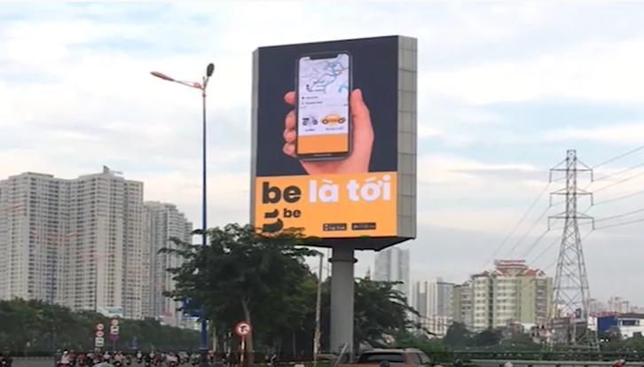 quảng cáo màng hình led ngoài trời