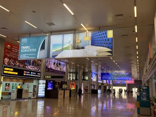 Quảng cáo màn hình LED sân bay