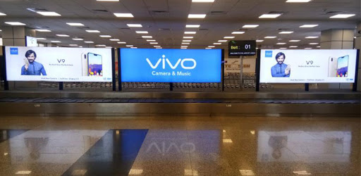 quảng cáo lcd sân bay
