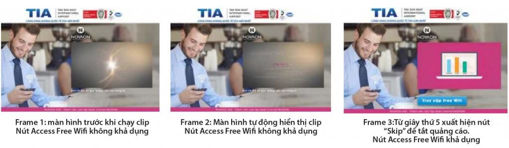 quảng cáo wifi sân bay tân sơn nhất