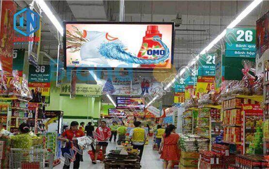 Quảng cáo LCD trong siêu thị Big C
