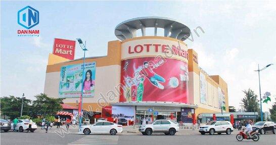 Quảng cáo màn hình LED tại siêu thị Lotte Mart