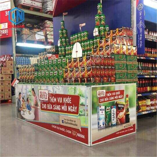 Quảng cáo POSM trong siêu thị