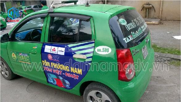 Tôn Phương Nam - Quảng cáo taxi Mai Linh Hải Phòng