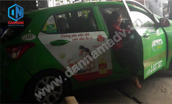 Quảng cáo taxi An Giang