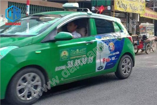 Quảng cáo taxi Mai Linh An Giang - Máy quạt Senko