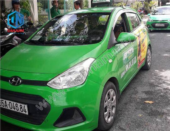 Quảng cáo trên taxi Mai Linh An Giang - Senko