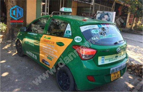 Quảng cáo trên taxi Mai Linh tại Bắc Kạn