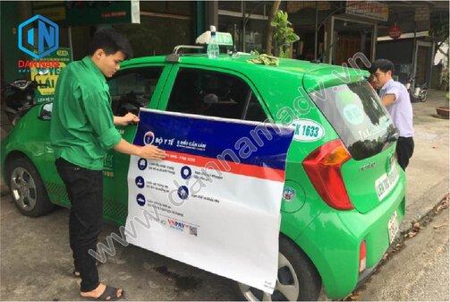 Quảng cáo taxi Bắc Kạn