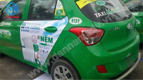 Quảng cáo taxi Bắc Ninh