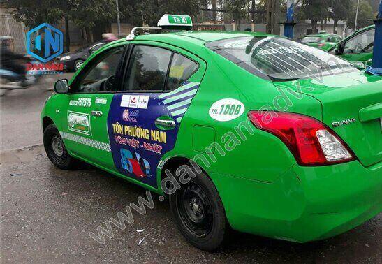 Quảng cáo taxi Bến Tre
