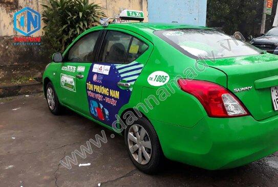 Quảng cáo taxi Mai Linh Bến Tre chuyên nghiệp