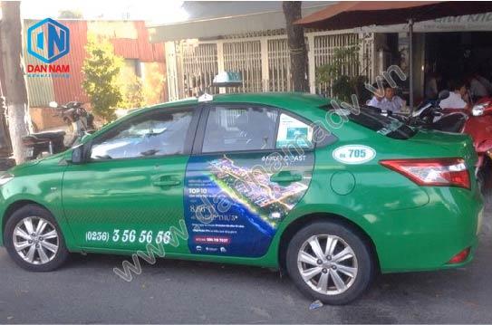 Quảng cáo taxi Mai Linh Bình Dương