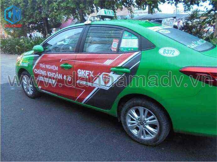 Quảng cáo taxi Bình Phước