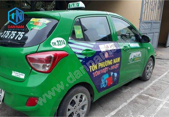Quảng cáo taxi Bình Thuận