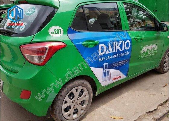 Quảng cáo taxi Cao Bằng