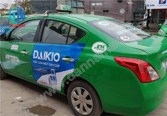 Quảng cáo trên taxi Mai Linh tại Cao Bằng