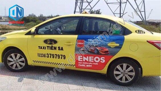 Quảng cáo taxi Đắk Lắk