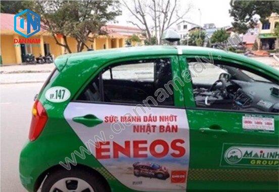 Quảng cáo taxi Đắk Nông