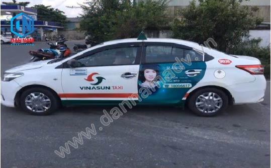 Điều Hòa Casper Quảng cáo taxi Vinasun tại Đồng Nai