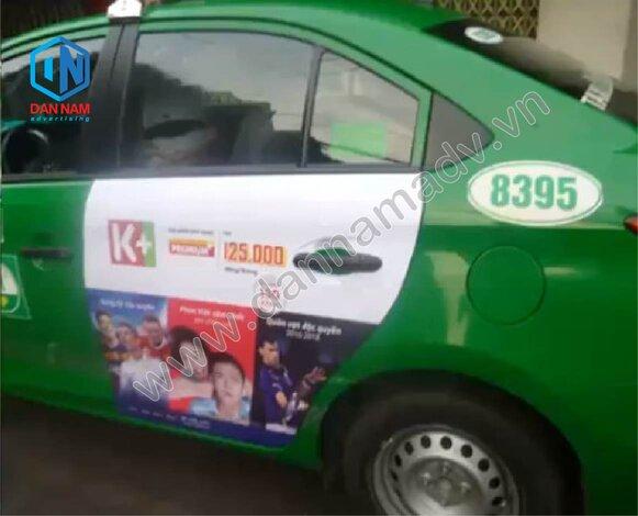 Quảng cáo taxi Đồng Tháp