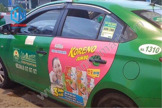 Quảng cáo taxi Hà Tĩnh