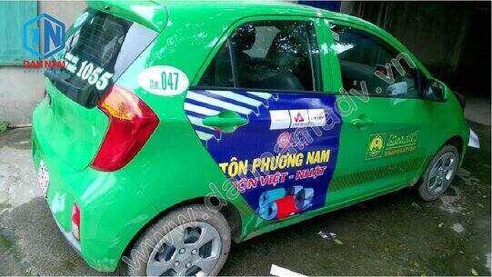 Quảng cáo taxi Mai Linh tại Hưng Yên - Tôn Phương Nam