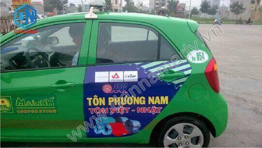 Quảng cáo taxi Hưng Yên