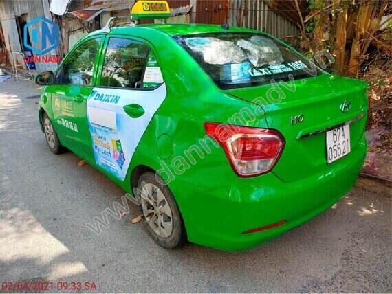 Daikin quảng cáo taxi Mai Linh 4 chỗ tại Kiên Giang