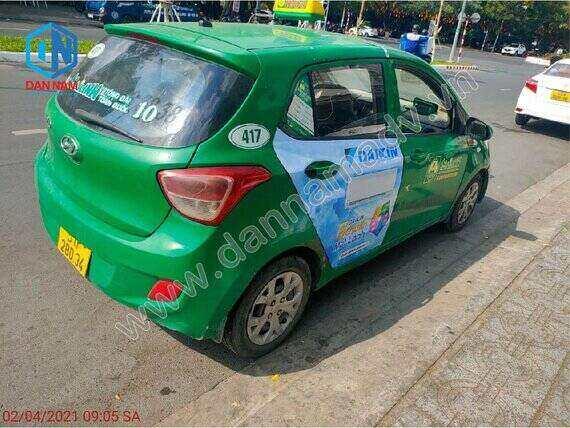 Quảng cáo taxi Kiên Giang