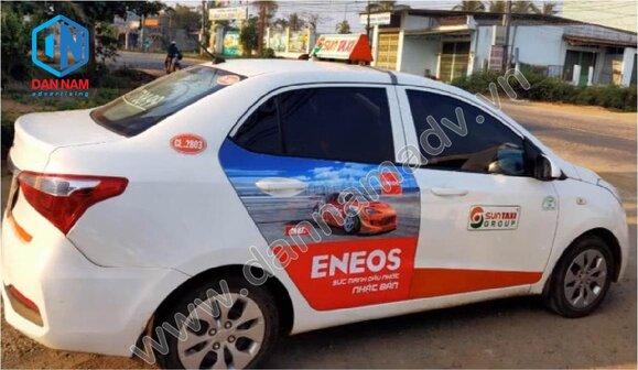 Quảng cáo taxi Kon Tum