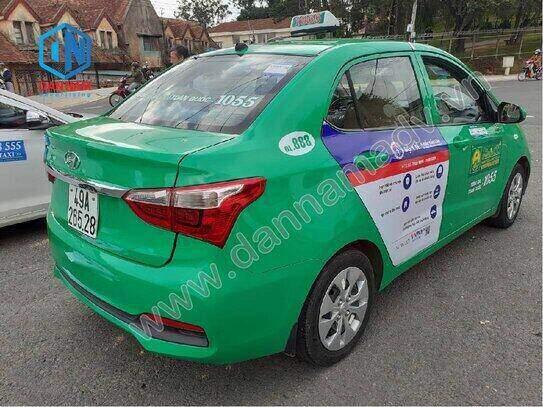 Truyền thông trên taxi Mai Linh Lâm Đồng