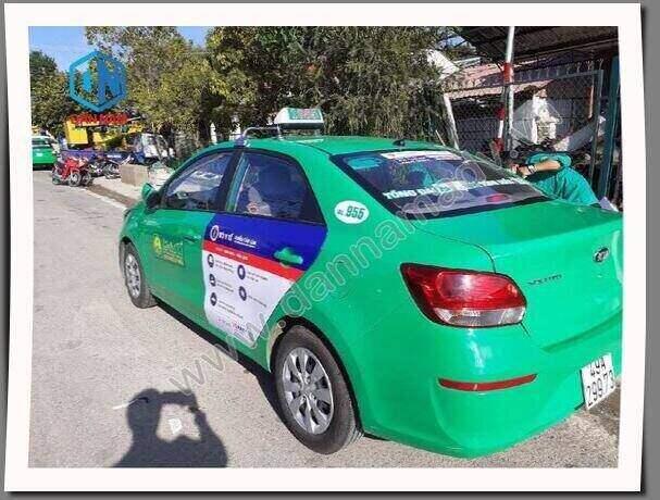 Bộ Y Tế truyền thông trên taxi Mai Linh Đà Lạt Lâm Đồng