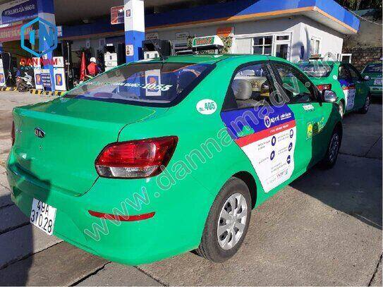 Quảng cáo taxi Lâm Đồng