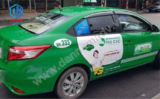 Quảng cáo trên taxi Mai Linh tại Lạng Sơn - Bệnh Viện Thu Cúc