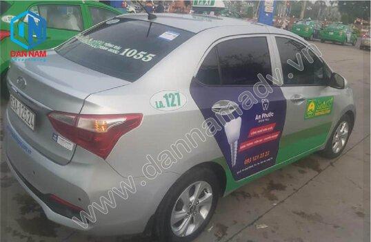 Quảng cáo taxi Long An