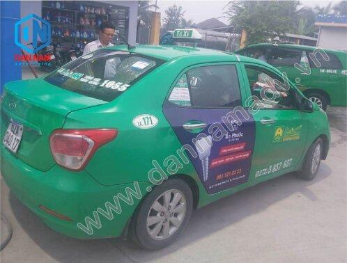 Nha Khoa An Phước Quảng cáo taxi Mai Linh Long An