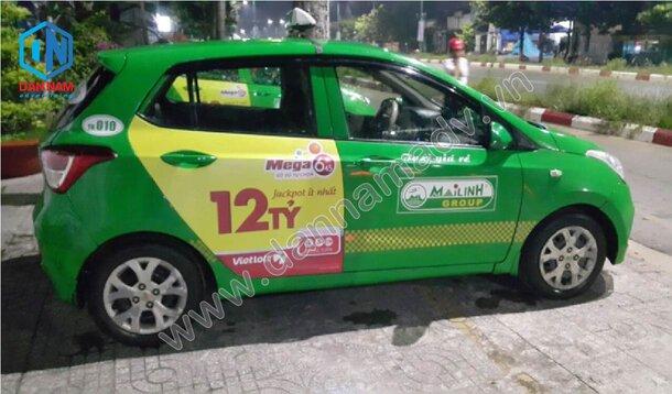 Quảng cáo taxi Nam Định