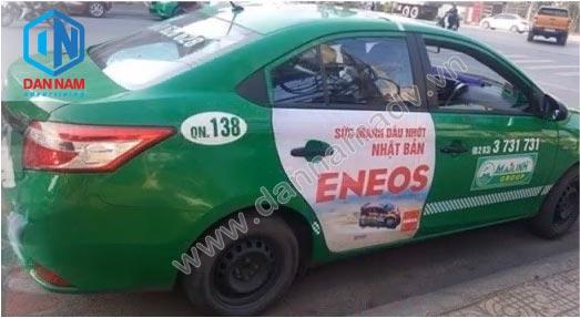 Quảng cáo taxi Mai Linh tại Nha Trang - Eneos