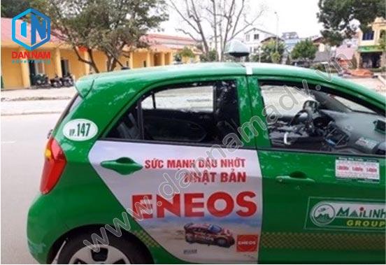 Eneos Quảng cáo taxi tại Nha Trang