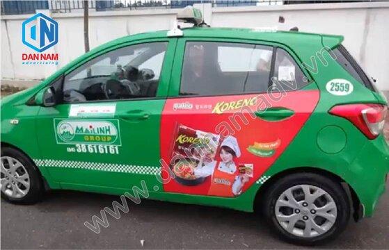 Quảng cáo taxi Ninh Thuận