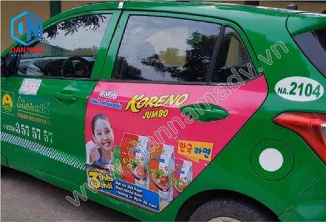 Quảng cáo taxi Mai Linh tại Phú Yên - Mì Koreno